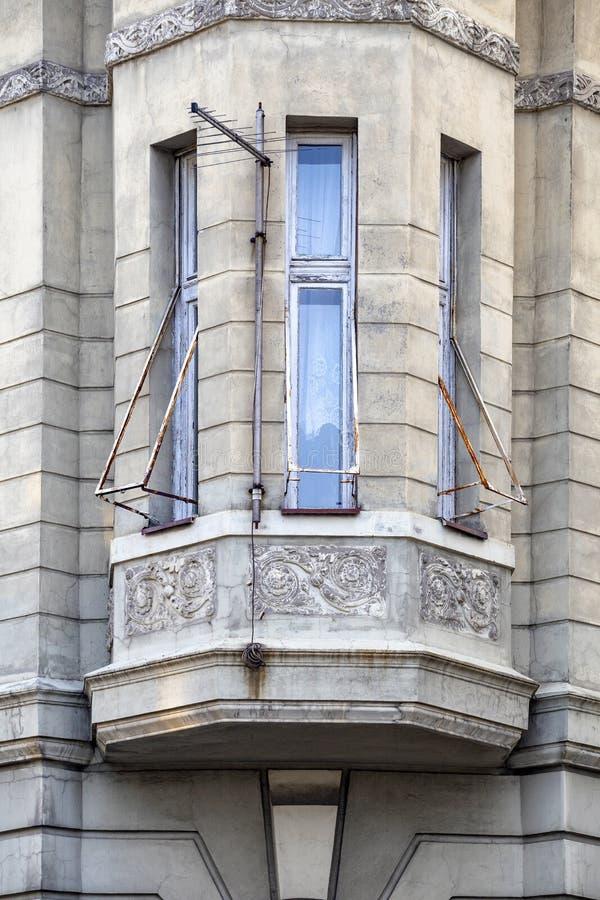 Erker-venster stock fotografie