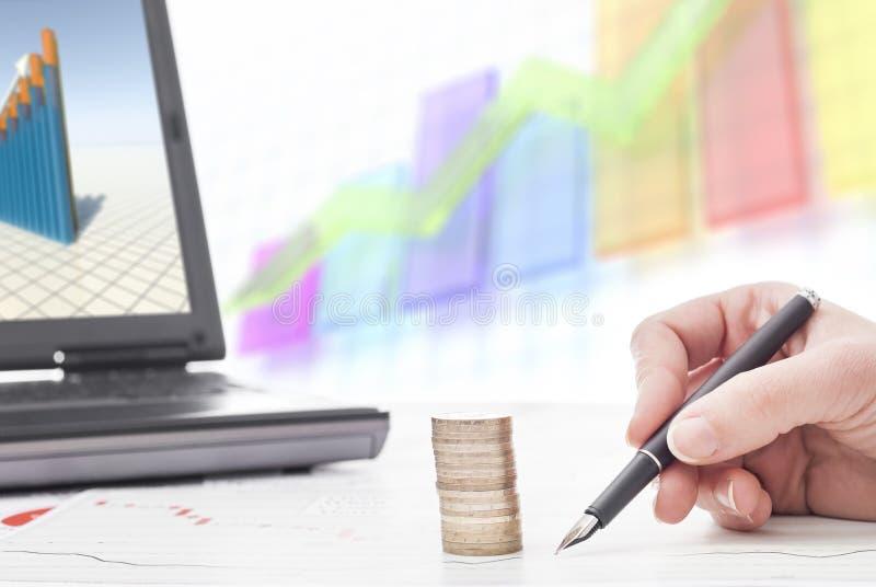 Erklären von Statistiken stockfotos