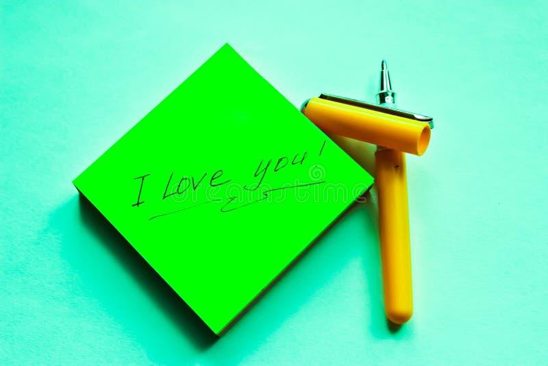 Erklärung der Liebe lizenzfreie stockbilder