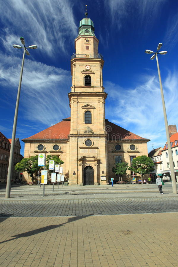 Free Erlangen - Huguenot Church Royalty Free Stock Images - 27274609