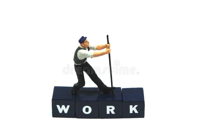 Erledigen Sie Ihre Arbeit stockbild