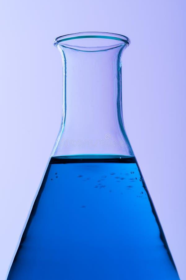 Erlenmeyer flaska arkivfoto