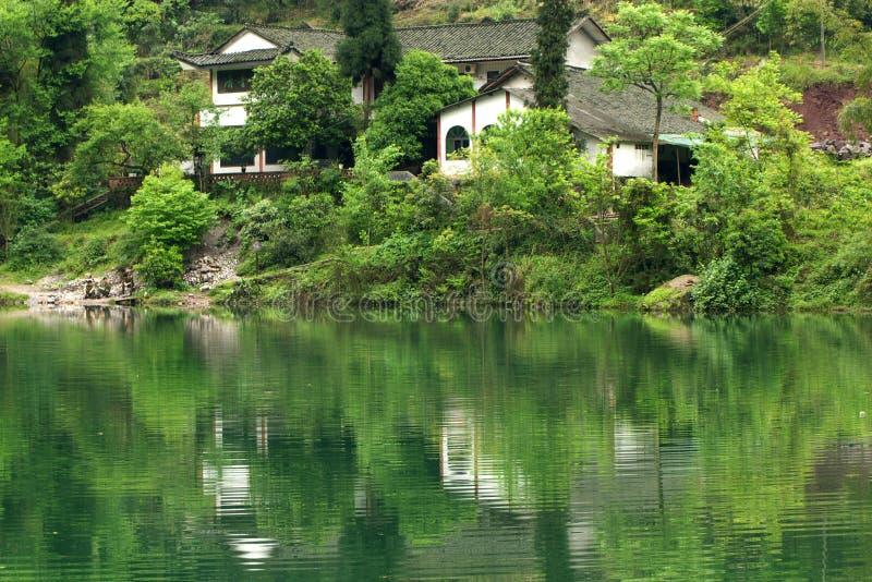 Ermei mountain's scenery stock images