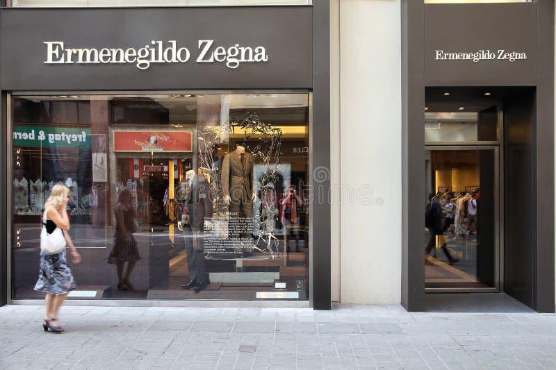 Ermenegildo Zegna στοκ εικόνες