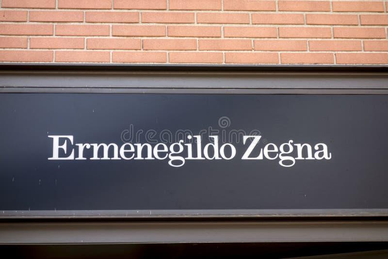 Ermenegildo Zegna immagine stock libera da diritti