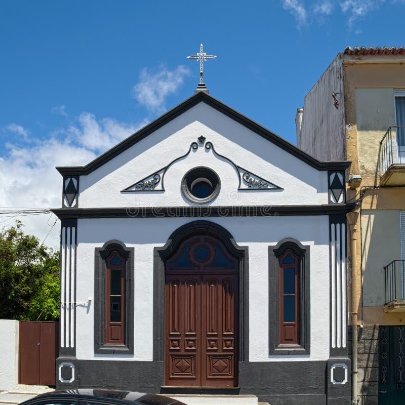 Ermida de Sao Lazaro, Angra, Azoren lizenzfreie stockfotos