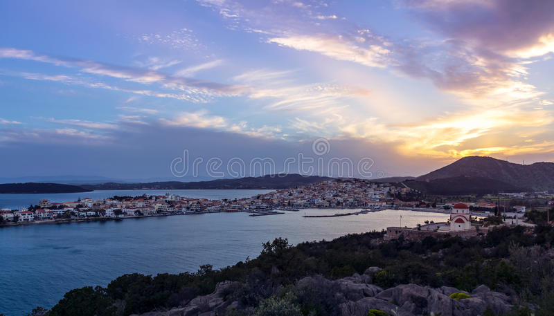 Ermioni Peloponnese royalty free stock photos