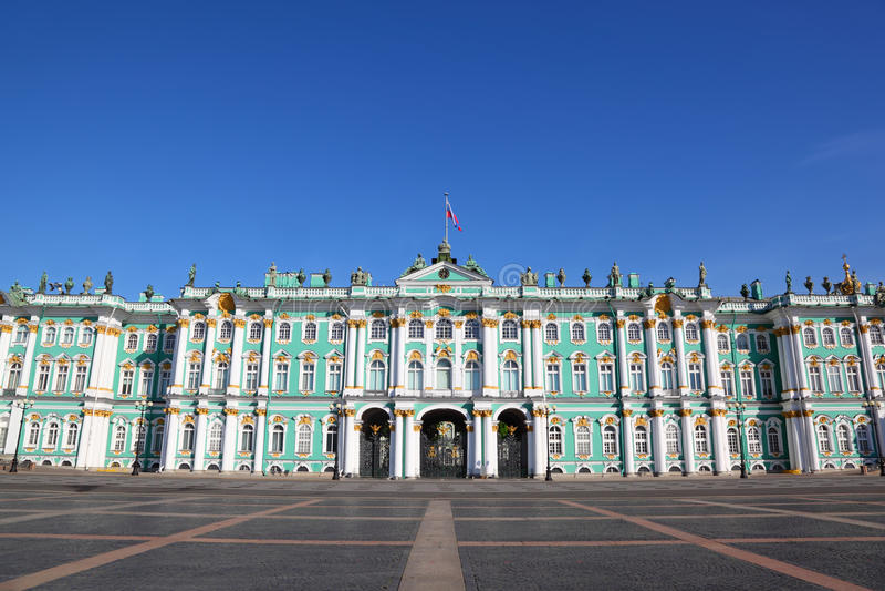ermitażu muzealny pałac Petersburg świętego kwadrat obraz stock