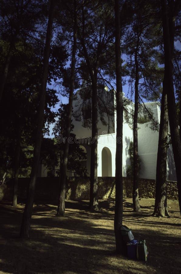 Ermita del siglo de San Vicente XVIII imagen de archivo