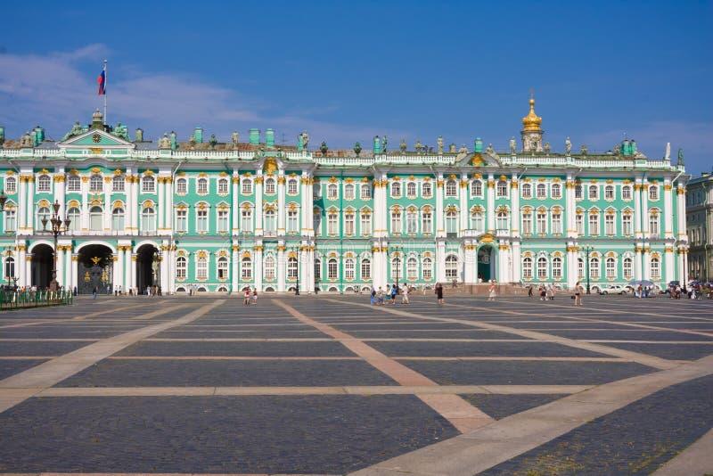 Ermita en St Petersburg imágenes de archivo libres de regalías