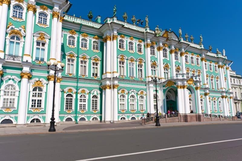 Ermita en St Petersburg imagen de archivo