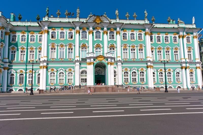 Ermita en St Petersburg imagenes de archivo