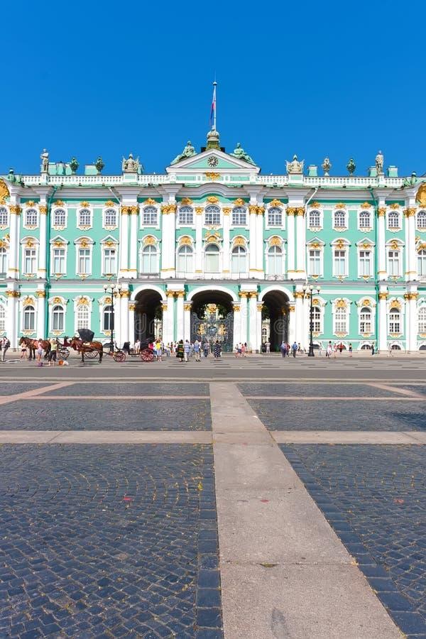 Ermita en St Petersburg fotografía de archivo libre de regalías