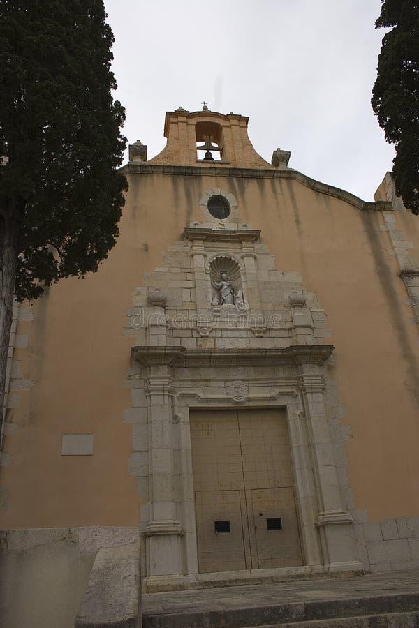 Ermita Socos (CÃ ¡ lig - Valencian Gemeenschap) royalty-vrije stock foto