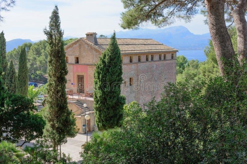 Ermita Victoria en Alcudia fotografía de archivo libre de regalías
