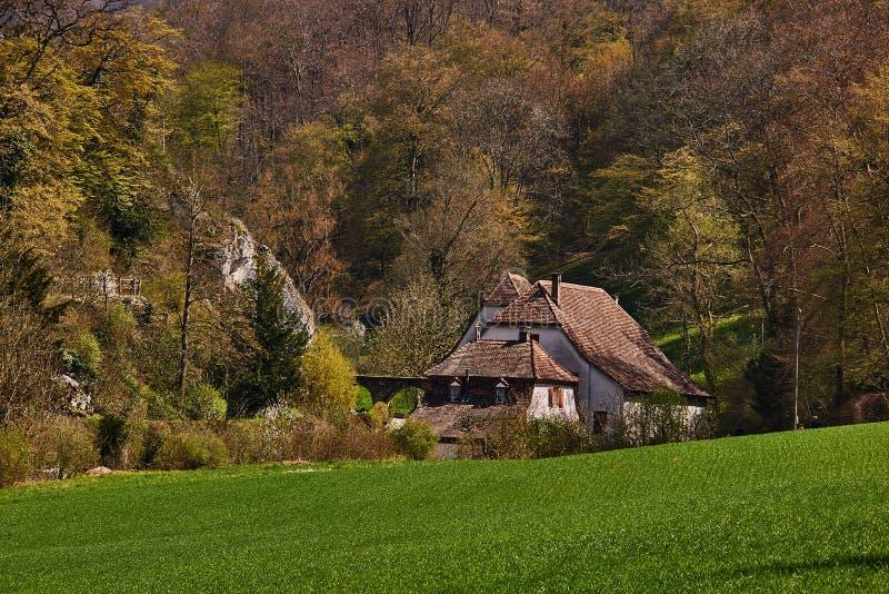 Ermitage di Arlesheim (Basilea) fotografia stock libera da diritti