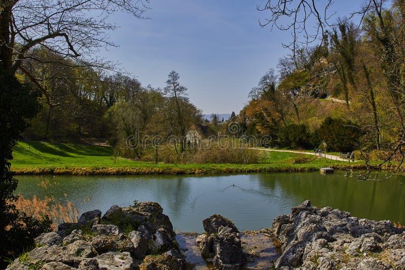 Ermitage di Arlesheim (Basilea) fotografia stock
