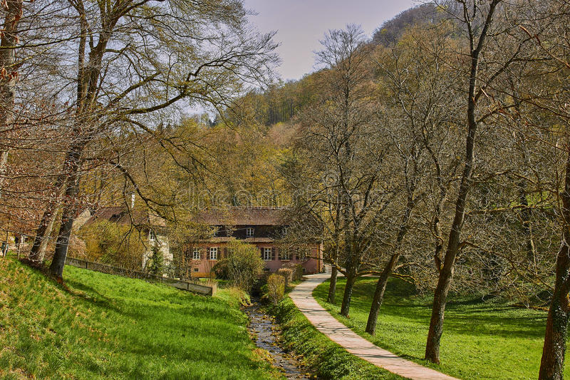 Ermitage di Arlesheim (Basilea) fotografie stock