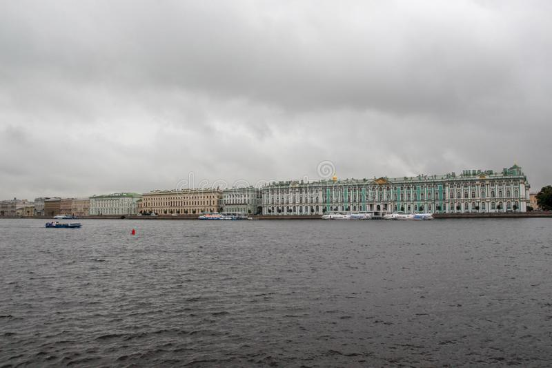 Ermitage St Petersburg, Russie photo stock