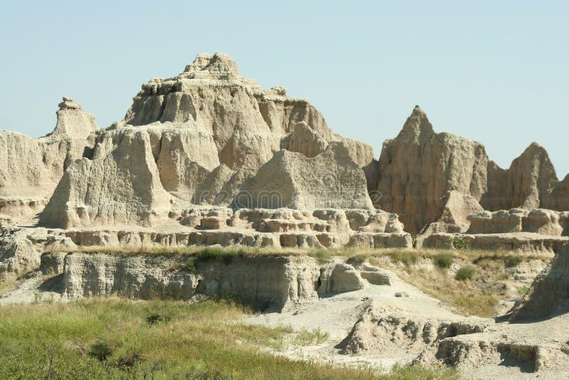 Ermo parque nacional, South Dakota imagens de stock