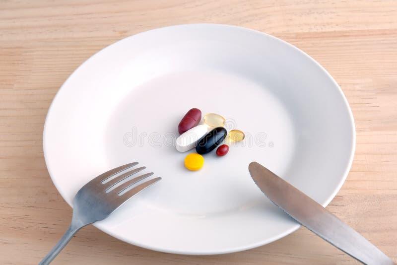 Ernährungsergänzungen stockfotos