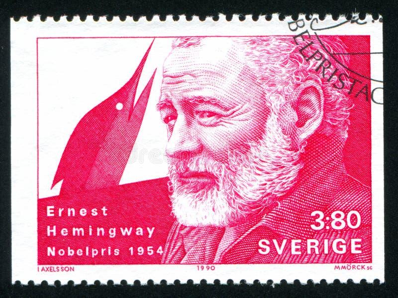 Ernest Hemingway lizenzfreies stockfoto