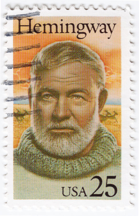Ernest Hemingway 图库摄影