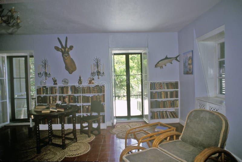 Ernest Hemingway Home et le musée, Key West, la Floride image stock
