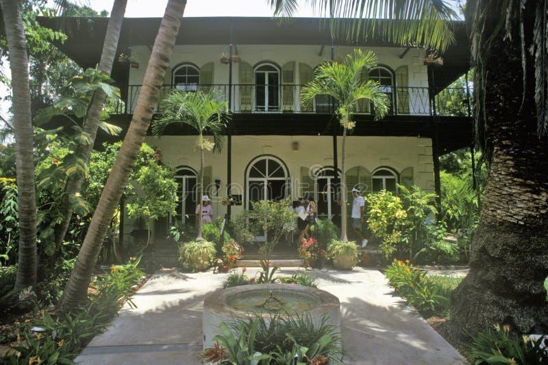 Ernest Hemingway Home und das Museum, Key West, Florida stockbild
