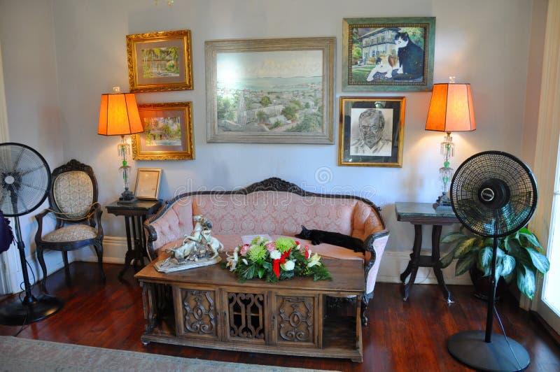 Ernest- Hemingwayhaus in Key West lizenzfreie stockfotos