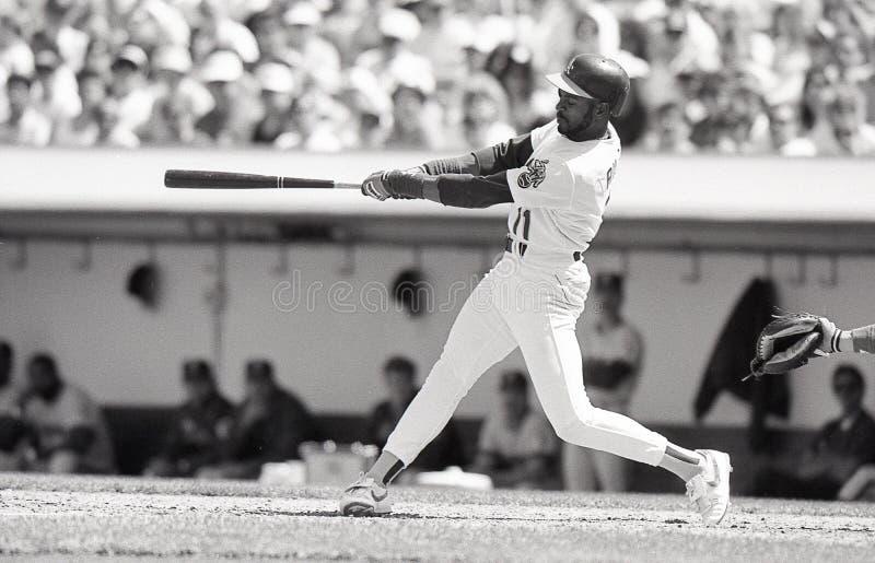 Ernest Riles, Oakland Athletics photos libres de droits