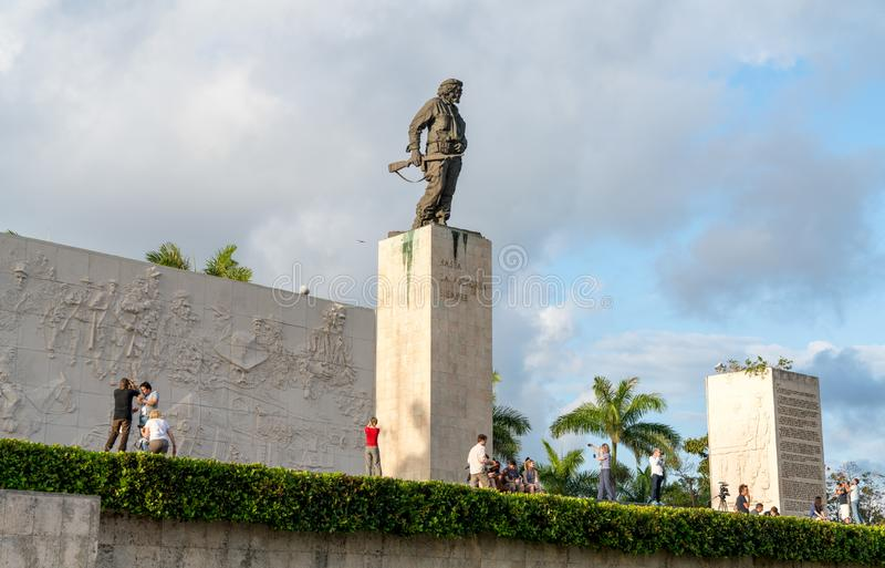 Ernesto Che Guevara Mausoleum em Santa Clara fotos de stock royalty free