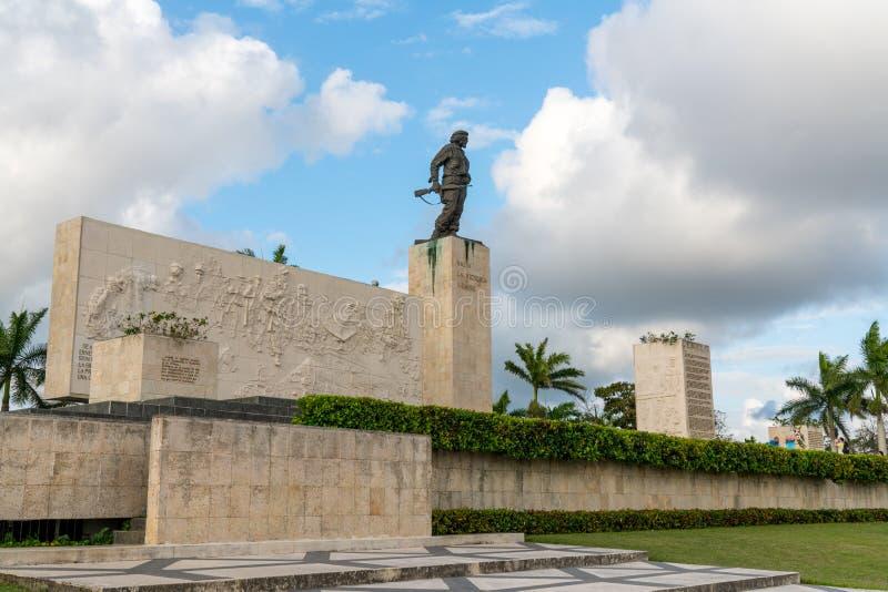 Ernesto Che Guevara Mausoleum em Santa Clara imagem de stock