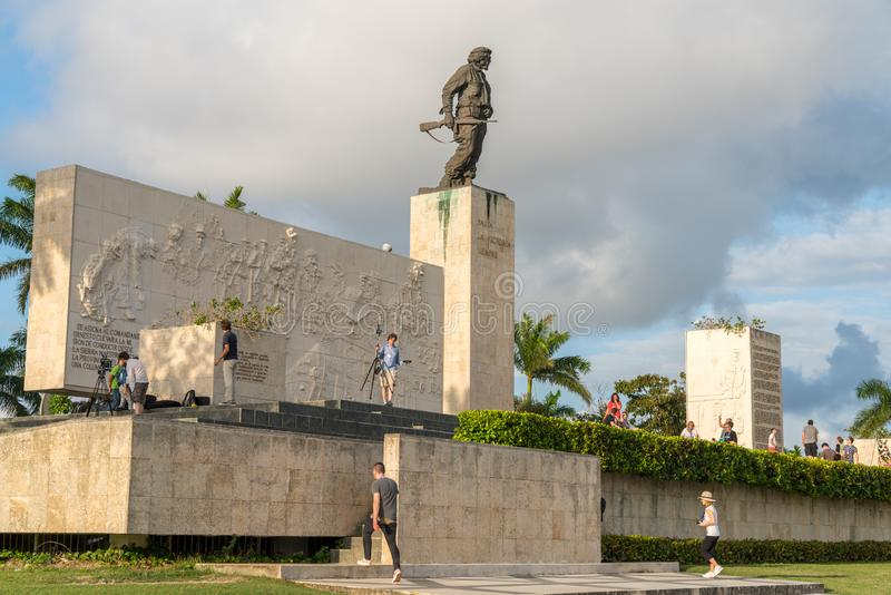 Ernesto Che Guevara mauzoleum w Santa Clara zdjęcie stock