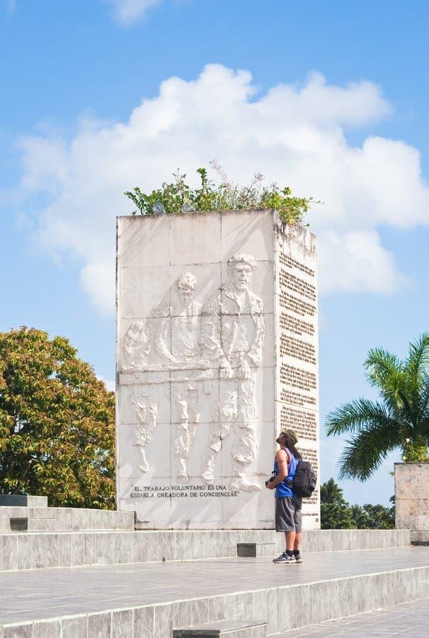 Ernesto commémoratif Guevara. Le Cuba photos stock