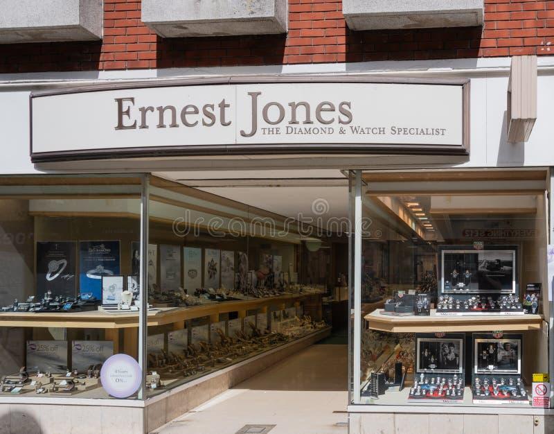 Ernet Jones Swindon imagen de archivo