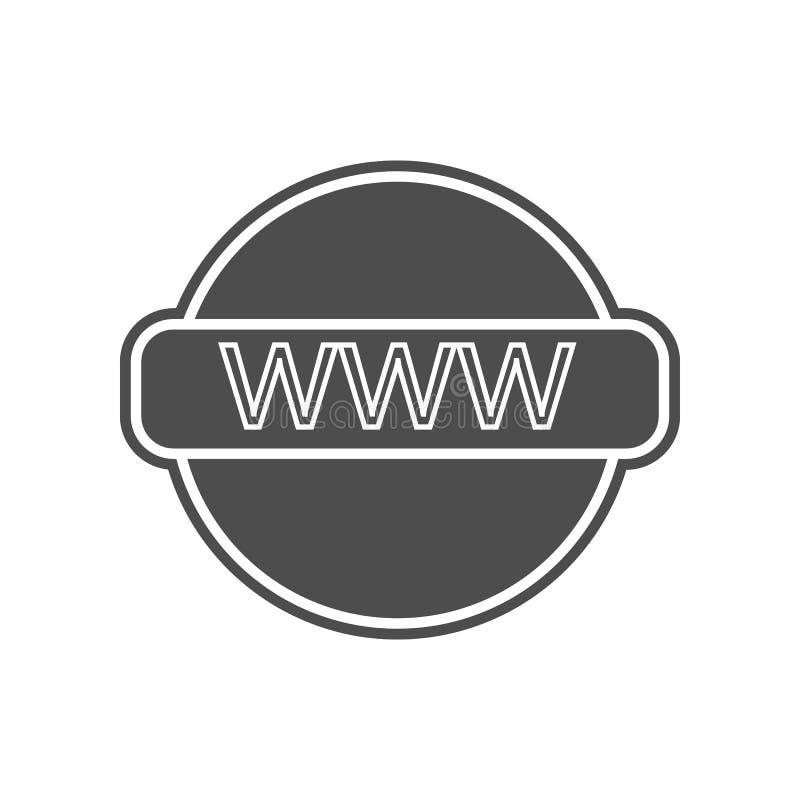 erneuern Sie Zeichenikone Element von minimalistic f?r bewegliches Konzept und Netz Appsikone Glyph, flache Ikone f?r Websiteentw stock abbildung