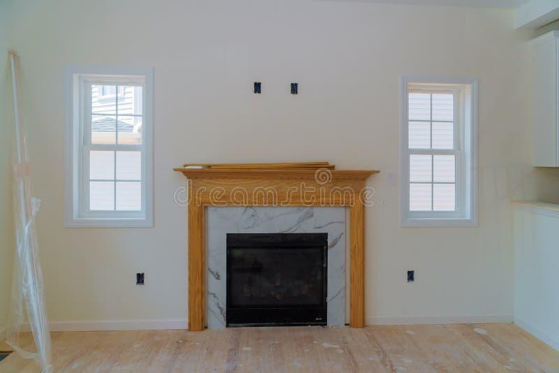 Erneuerung die Wohnung ist im Bau neues Haus stockfotos