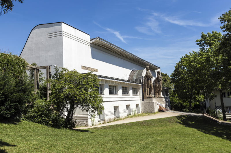 Ernst Ludwig House at the Artists' Colony in Darmstadt royalty free stock photo