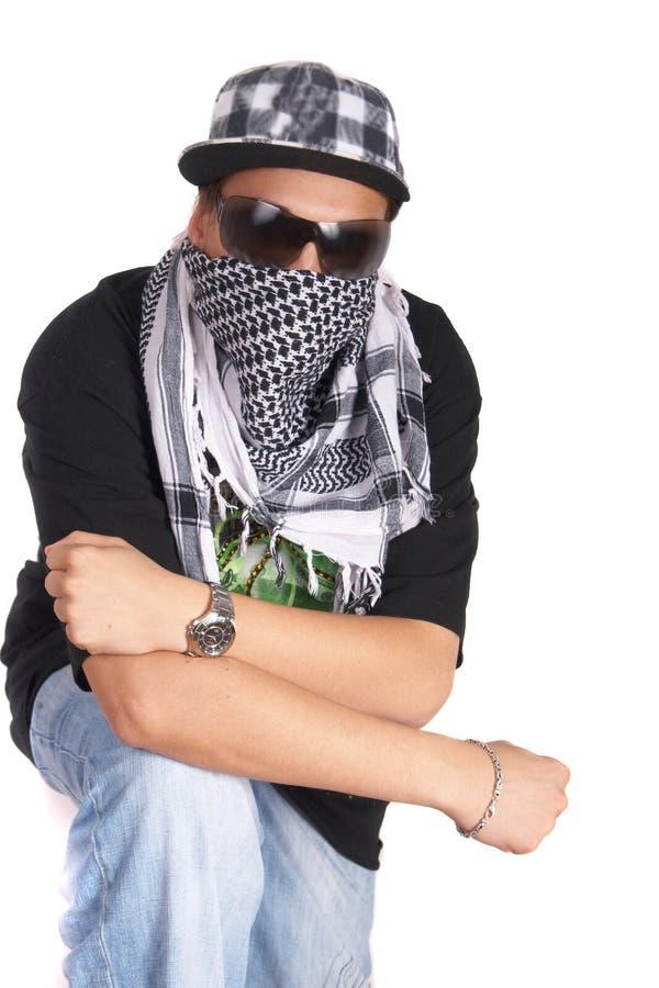 Ernster Gangster lizenzfreies stockfoto