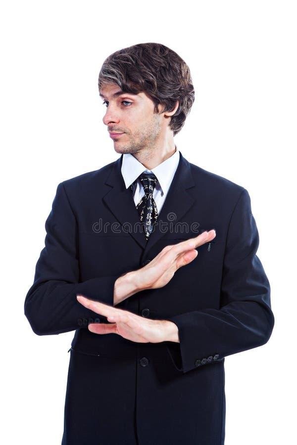 Download Ernstige bedrijfsproblemen stock afbeelding. Afbeelding bestaande uit mens - 29500913