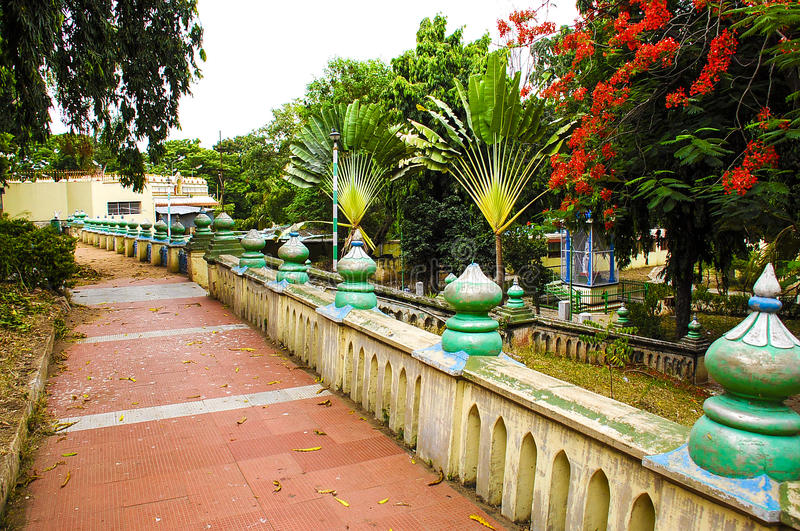 Erode park. It place in erode tamil nadu voc park royalty free stock photo