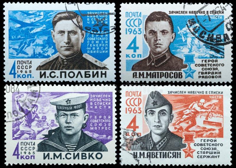 Eroe dell'Unione Sovietica immagini stock libere da diritti