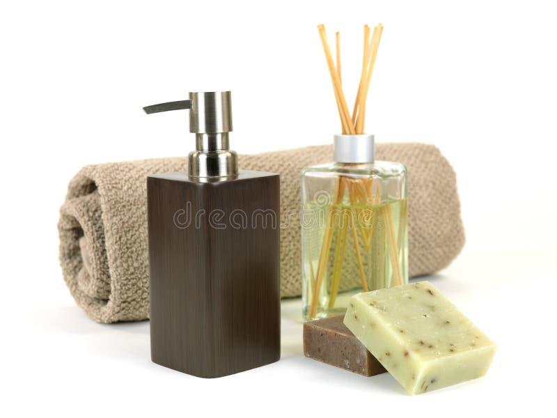 Erogatore del sapone fotografie stock