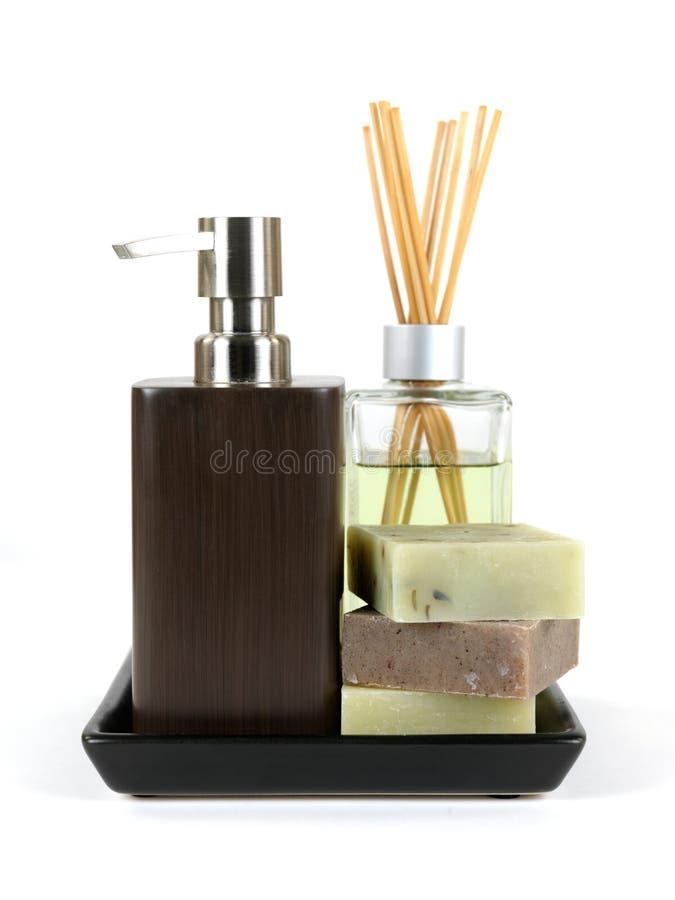 Erogatore del sapone fotografia stock