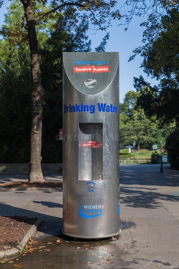 Erogatore dell'acqua a Vienna immagini stock
