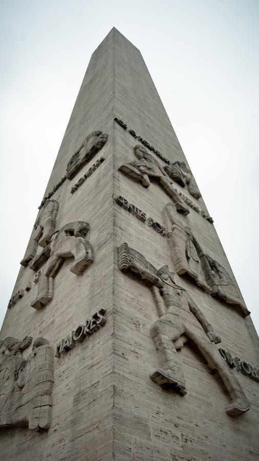 Eroi di São Paulo commemorativi immagini stock libere da diritti