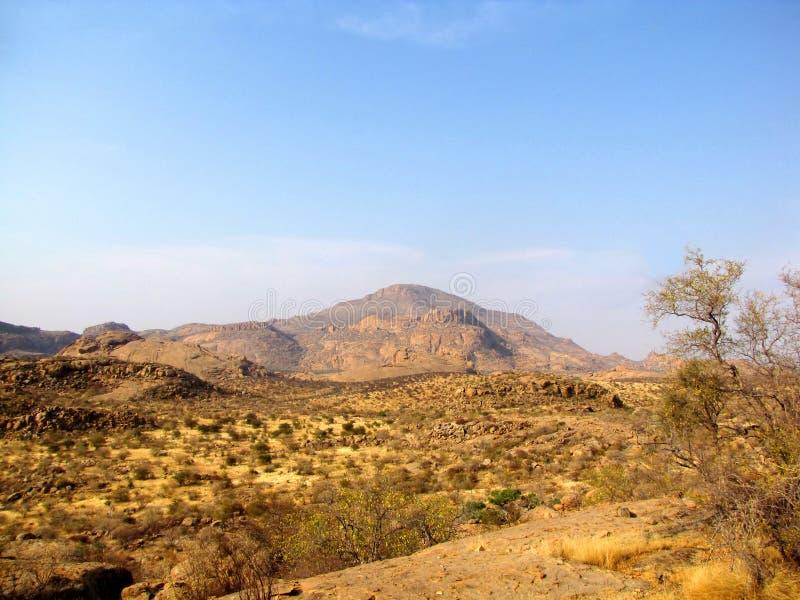 Erongo Mountains royalty free stock images