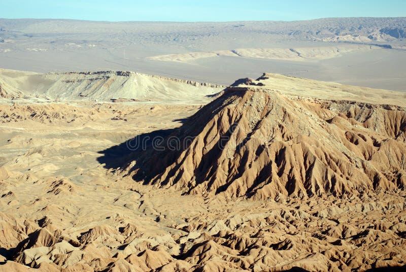 Erosão no deserto de Atacama fotografia de stock royalty free
