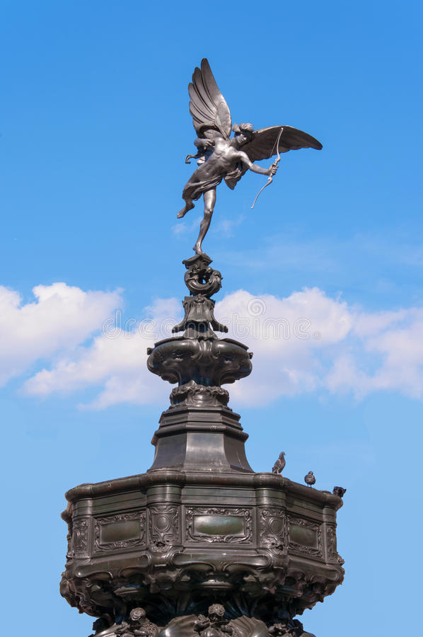 Free Eros / Anteros Statue At Piccadilly Circus, London Royalty Free Stock Photos - 53197918